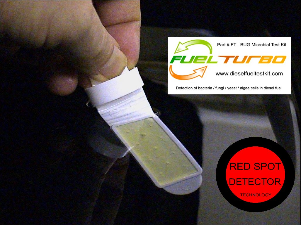 FT - BUG Test Kits: Diesel Fuel algae, bacteria, fungus